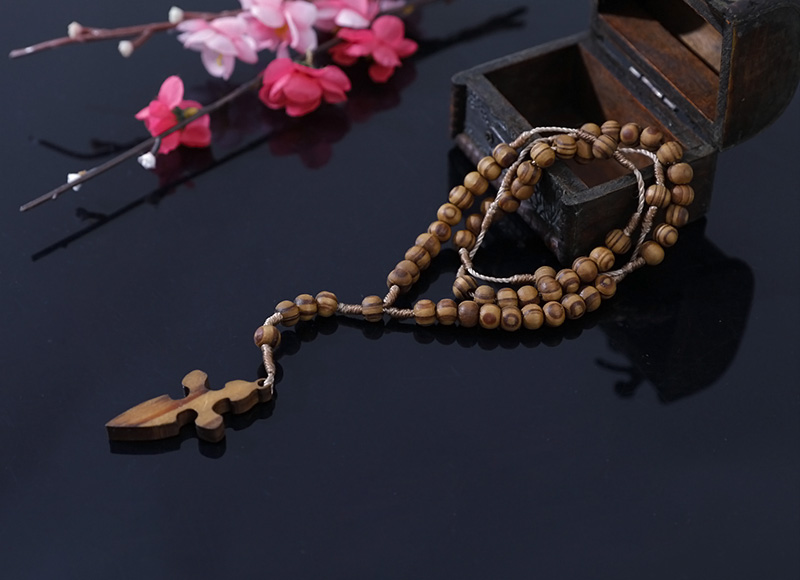 6-7mm olive wood rosary