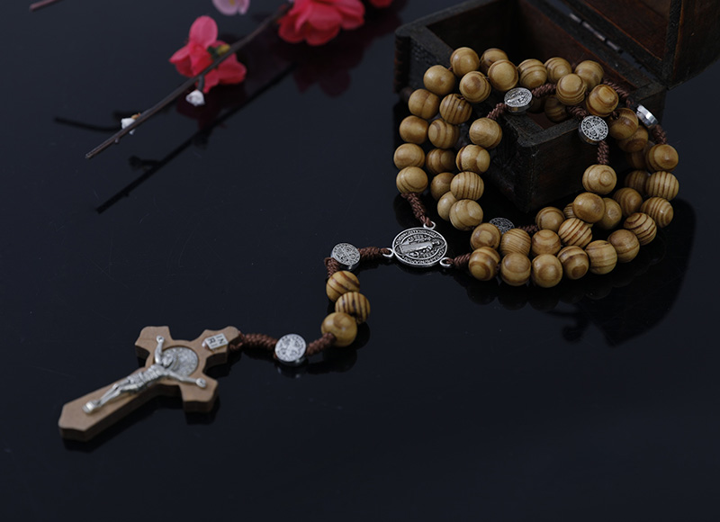 7-8mm olive wood rosary