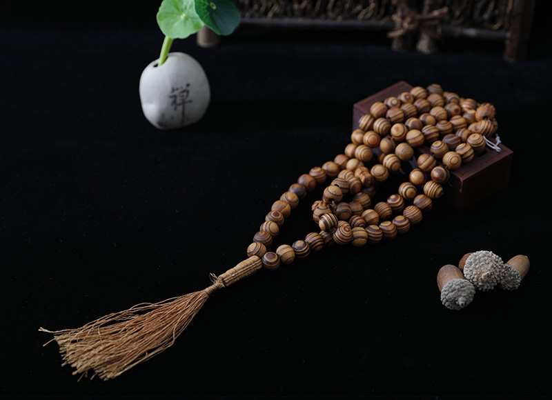 10-11mm wood cord rosary