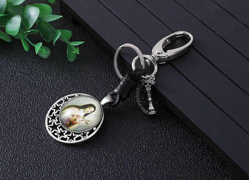 New design alloy keychain