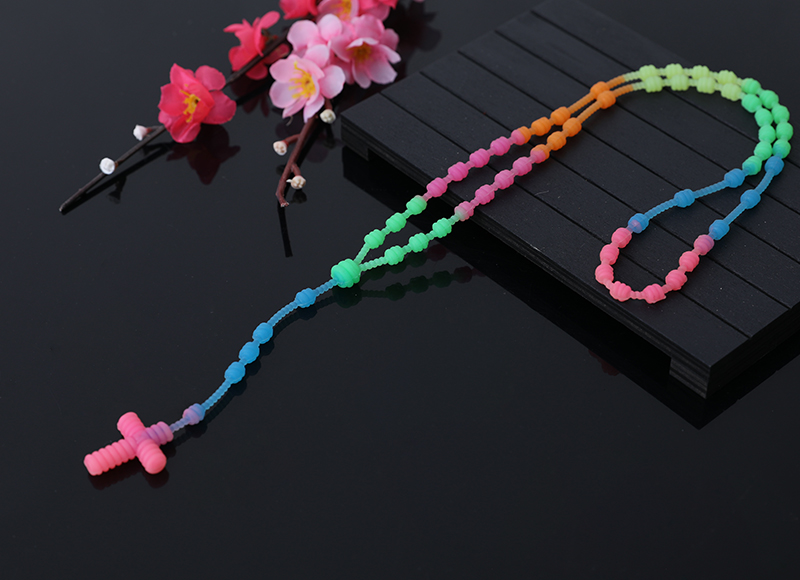 Colorful Silica Gel Rosary