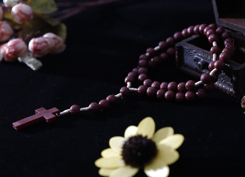 Scented plastic rosary