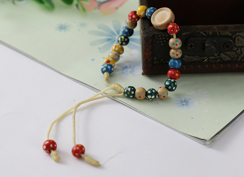 Colorful beads bracelet for children