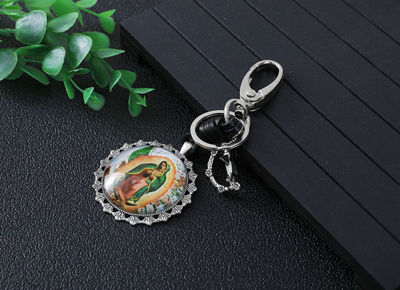43mm alloy pendant keychain
