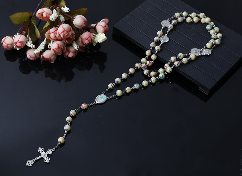 high quality plastic beads chain rosary
