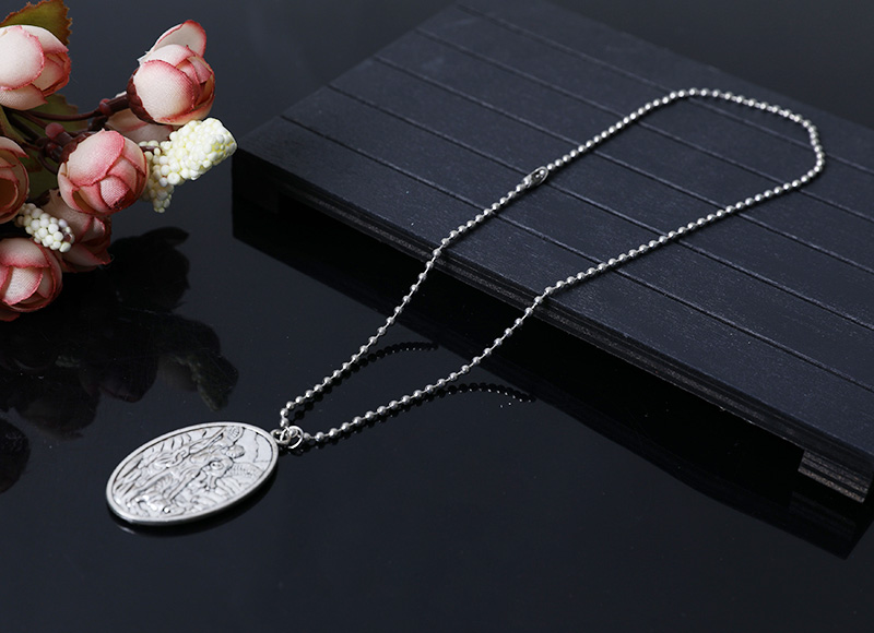 christian religious pendant necklace
